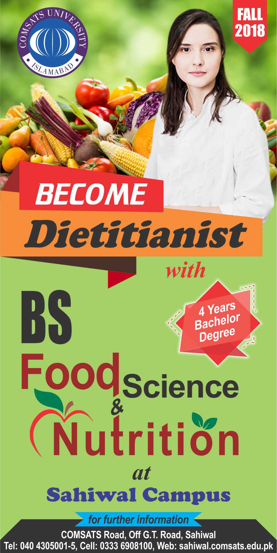 Bachelor of Science in Food Science and Nutrition